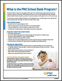 PNC School Bank Program